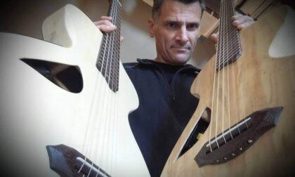 Marcello Norero, l'artigiano del legno  che diventa liutaio e forgia chitarre d'autore