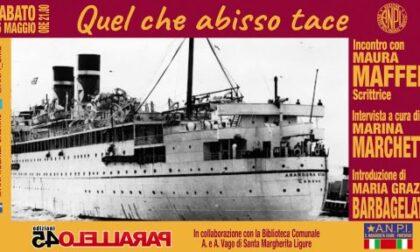 """Santa Margherita, Anpi: presentazione on line del libro """"Quel che abisso tace"""""""