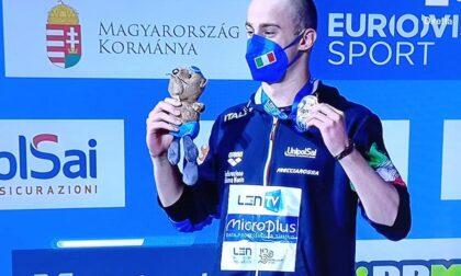 Europei nuoto: Razzetti conquista la medaglia d'argento nei 400 misti