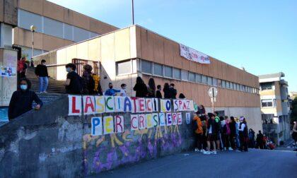 Liceo Luzzati, lo sciopero degli studenti