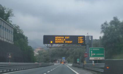 14 chilometri di coda tra Chiavari e Genova Nervi