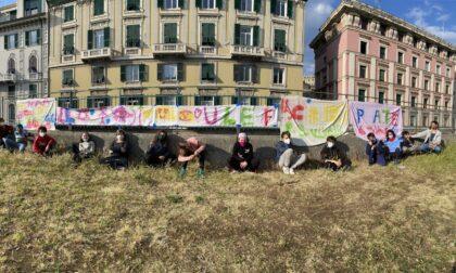 Cyberbullismo, un murales all'Acquasola realizzato dai ragazzi di Face