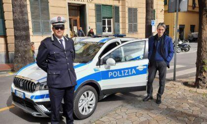 Santa Margherita Ligure: una nuova vettura in dotazione alla Polizia Locale
