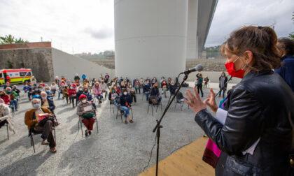 """""""Mercanti di storie"""": i cittadini di Certosa si raccontano tra crollo del ponte, immigrazione e partigiani"""