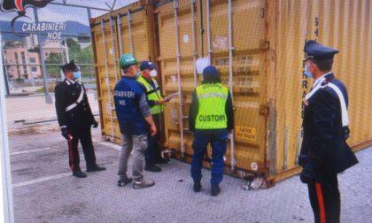 Rifiuti, un sequestro da 350 tonnellate