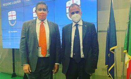 Il presidente Toti incontra il ministro del turismo Garavaglia