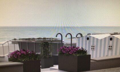 Spiaggia vicino alla Terrazza delle Fantasie Marie, addio barriere achitettoniche