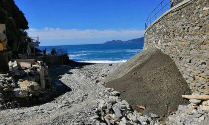 Ripascimento della spiaggia di Marina di Bardi
