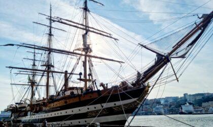 L'Amerigo Vespucci a Genova, Toti: simbolo di bellezza, tenacia e lavoro