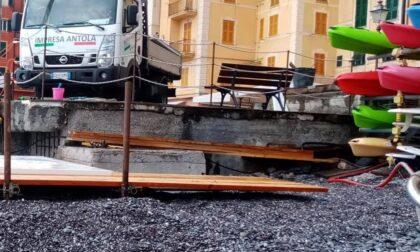 """Progetto """"Spiaggia accessibile"""" a Camogli"""