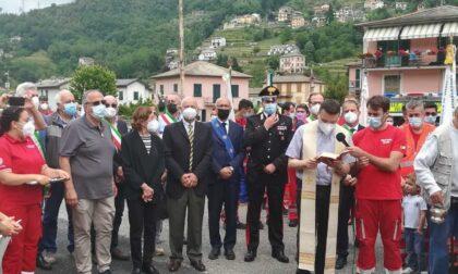 Inaugurato il nuovo mezzo del Comitato Croce Rossa Italiana di Cicagna