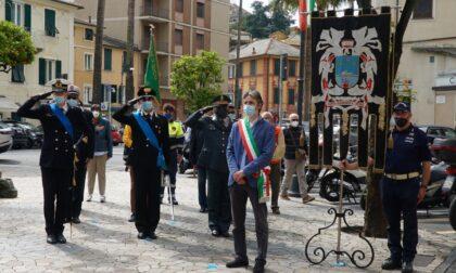 Santa Margherita festeggia (senza pubblico) l'anniversario della Repubblica