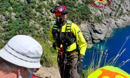 Portofino, Vigili del Fuoco soccorrono escursionisti