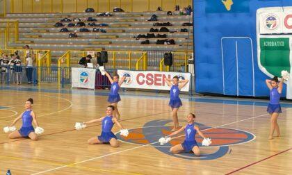 Le cheerleader della società di Rapallo trionfano nella gara nazionale di Cervia