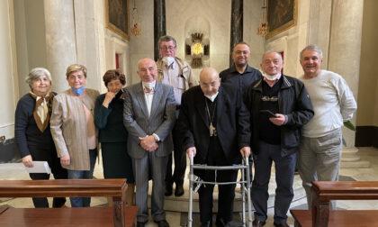 Il Serra Club Tigullio saluta il vescovo Tanasini