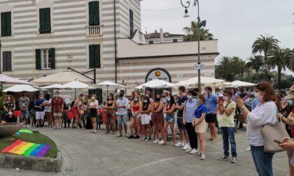 La soddisfazione per la manifestazione DDL Zan a Rapallo