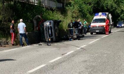 Incidente mortale lungo la statale 45 della Val Trebbia