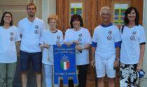 La campionessa mondiale di pattinaggio in visita a Lavagna