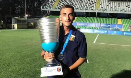 Tommaso Bacherotti, un sestrino campione d'Italia con il Genoa Under 18