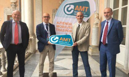 Nuovo logo Amt: i bus del Tigullio cambiano volto