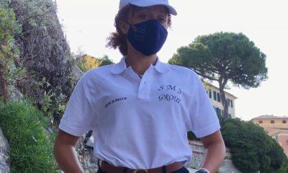 """Non chiamatela hostess. Sulla spiaggia dei Frati arriva la prima """"safety girl"""" della Liguria"""