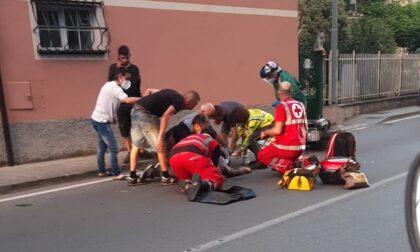 Incidente in via Parma, donna ricoverata in gravi condizioni