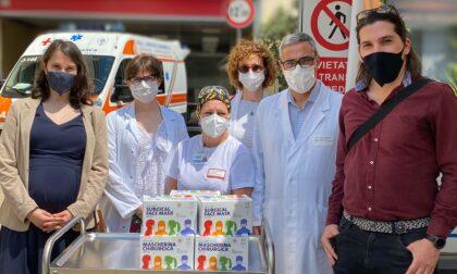 L'associazione Il Buonsenso dona 200 mila mascherine chirurgiche ad Asl3