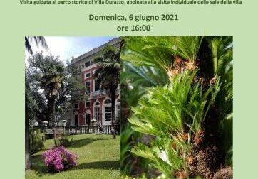 Villa Durazzo, passeggiata nel Parco Romantico