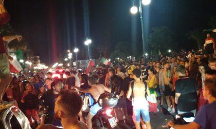 L'Italia vince gli Europei, la festa nel Tigullio