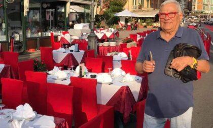 Rapallo in lutto per la morte del commerciante Vittorio Lai