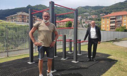 Area fitness di Caperana: arriva una nuova struttura per il corpo libero