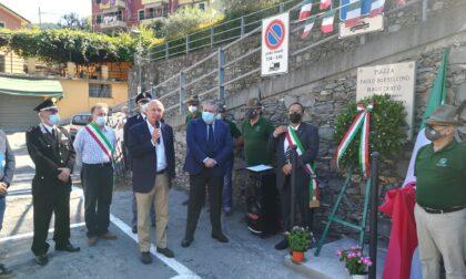 Inaugurata questa mattina la nuova targa a Paolo Borsellino