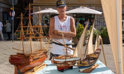 Lavagna: allestita mostra di modellismo navale