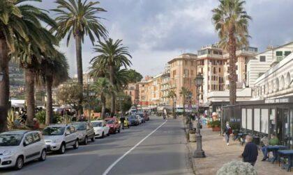 Rapallo, chiuso temporaneamente il lungomare