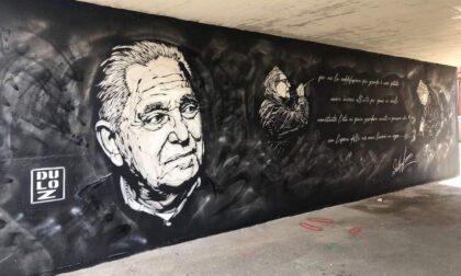 A Lavagna un murales dedicato al maestro Dallorso