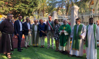 """Inaugurato il parco giochi intitolato a """"Vittorio Chiesa"""" in viale Tappani"""