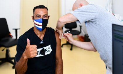 Sampdoria: vaccinati giocatori, staff e dirigenti