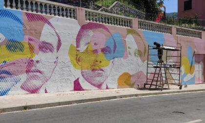 Festivart arriva a Cavi con un nuovo murales dedicato a Giacomo Matteotti