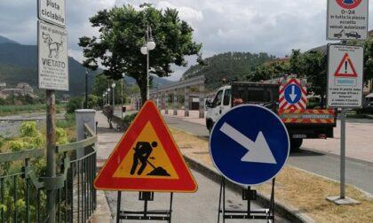 Lavori di riqualificazione complessiva della pista ciclabile