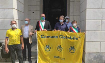 """Assegnate le """"bandiere gialle"""" ai Comuni Ciclabili 2021: prima volta per Chiavari"""