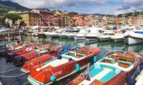 Primi arrivi a Santa Margherita Ligure tra i 22 Riva d'epoca del 3° Tributo a Carlo Riva, raduno di scafi storici
