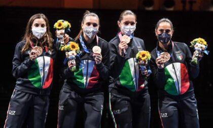 Olimpiadi, medaglia di bronzo per le ragazze della scherma