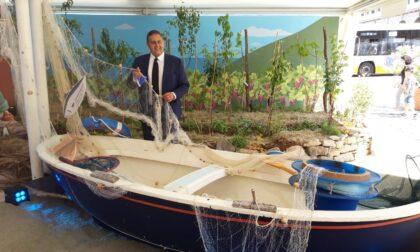 Slow Fish: il presidente Toti in visita allo stand di Regione Liguria