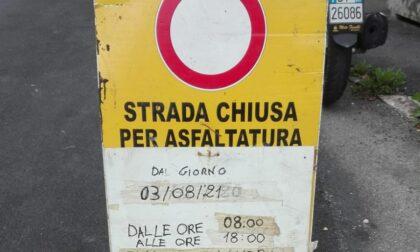 Val d'Aveto, chiusa per asfaltatura la SP 86 di Caselle