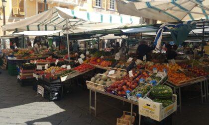 Il mercato di Piazza Mazzini e i negozianti di Chiavari in lutto per la morte di Di Capua