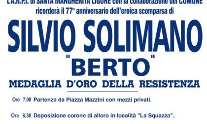 """Domani la commemorazione ad Allegrezze del partigiano Silvio Solimano """"Berto"""""""