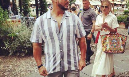 Jennifer Lopez a passeggio per Portofino