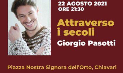 Giorgio Pasotti a Chiavari per l'ultima data del Dionisio Festival