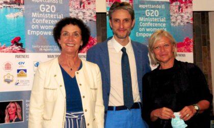 Santa Margherita Ligure: in vista del G20 delle donne dialogo tra Donatella Bianchi e Giovanna Tiscornia