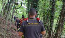 Cade durante un'escursione, soccorsa donna